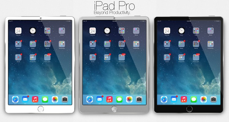 Apple iPad Pro colori disponibili